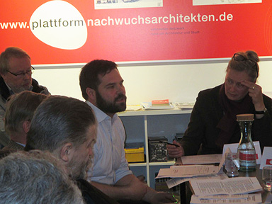 Round Table Talk mit Dr. Claus Michelsen, DIW und Theresa Keilhacker, AfA (v.l.n.r.)