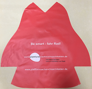 Sattelschoner Be Smart - Fahr Rad